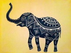 Majestic Elephant- Muse Paintbar
