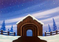 New England Bridge- Muse Paintbar