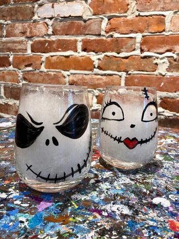 Glassware Painting Event on 10/21 at Muse Paintbar Garden City