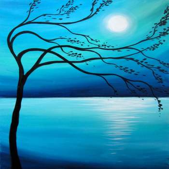 Canvas Painting Class on 06/15 at Muse Paintbar Woodbury