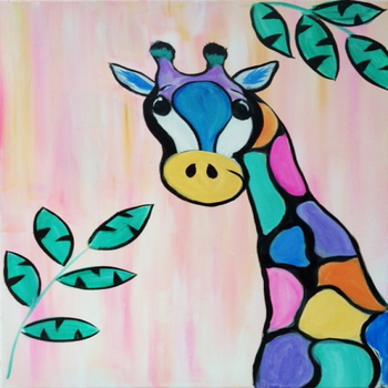Kids Painting Class on 03/14 at Muse Paintbar Fairfax (Mosaic)