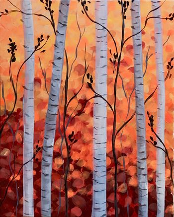 Canvas Painting Class on 09/06 at Muse Paintbar Lynnfield