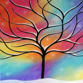 Canvas Painting Class on 12/03 at Muse Paintbar Lynnfield