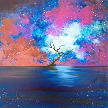 Canvas Painting Class on 06/10 at Muse Paintbar Norwalk