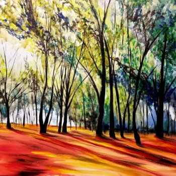 Canvas Painting Class on 11/15 at Muse Paintbar Fairfax (Mosaic)