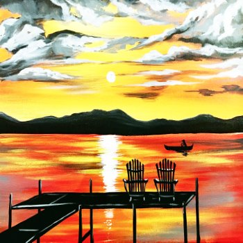 Paint Your Masterpiece on 09/15 at Muse Paintbar Manchester