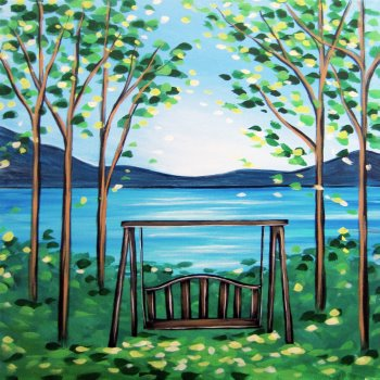 Canvas Painting Class on 03/17 at Muse Paintbar Annapolis