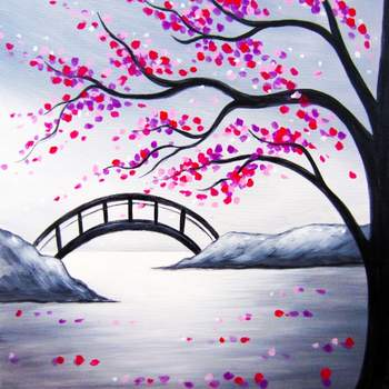 Canvas Painting Class on 03/23 at Muse Paintbar Gaithersburg