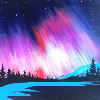 Canvas Painting Class on 04/12 at Muse Paintbar Portland