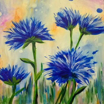 Canvas Painting Class on 03/26 at Muse Paintbar Richmond