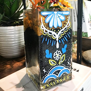 Glassware Painting Event on 09/26 at Muse Paintbar White Plains