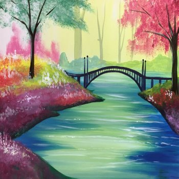 Paint Your Masterpiece on 03/30 at Muse Paintbar Woodbridge