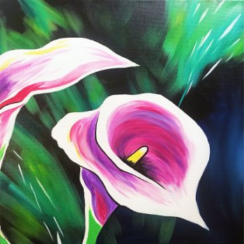 Canvas Painting Class on 04/30 at Muse Paintbar Richmond