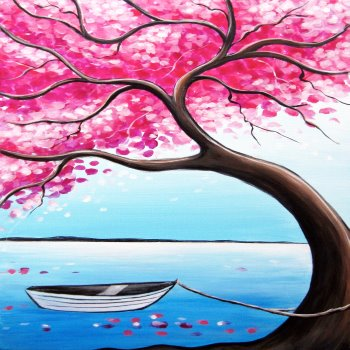 Canvas Painting Class on 03/03 at Muse Paintbar Providence