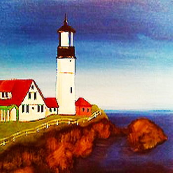 Canvas Painting Class on 07/20 at Muse Paintbar Portland