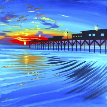 Canvas Painting Class on 08/10 at Muse Paintbar Gainesville