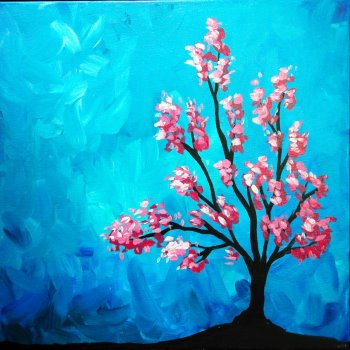Canvas Painting Class on 04/08 at Muse Paintbar Milford