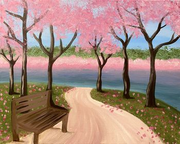 Canvas Painting Class on 03/22 at Muse Paintbar White Plains