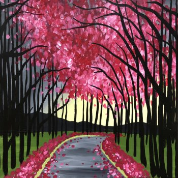 Canvas Painting Class on 04/24 at Muse Paintbar Richmond