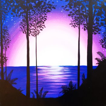 Canvas Painting Class on 07/25 at Muse Paintbar Virginia Beach