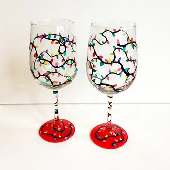 Glassware Painting Event on 12/11 at Muse Paintbar White Plains