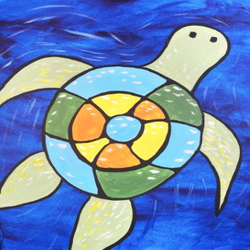 Kids Painting Class on 05/04 at Muse Paintbar Fairfax (Mosaic)