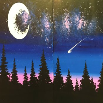 Couple's Paint Night on 12/22 at Muse Paintbar Garden City