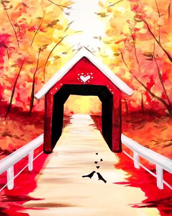Canvas Painting Class on 11/24 at Muse Paintbar Norwalk
