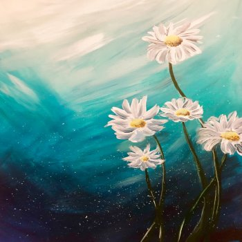 Canvas Painting Class on 03/24 at Muse Paintbar Fairfax (Mosaic)