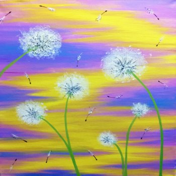 Canvas Painting Class on 05/27 at Muse Paintbar Richmond