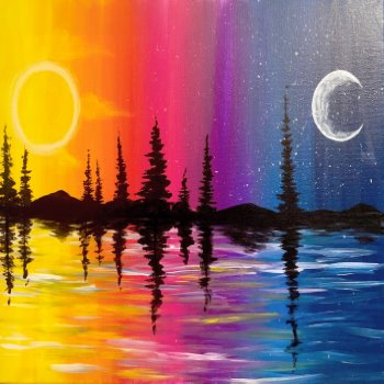 Canvas Painting Class on 09/28 at Muse Paintbar Manchester