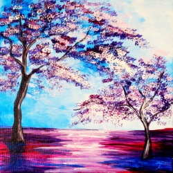 Canvas Painting Class on 04/23 at Muse Paintbar Richmond