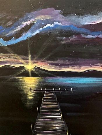 Canvas Painting Class on 11/07 at Muse Paintbar Lynnfield