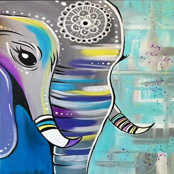 Special Paint & Sip Event on 01/16 at Muse Paintbar Patriot Place
