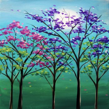 Canvas Painting Class on 03/22 at Muse Paintbar Annapolis