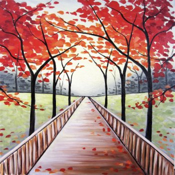 Canvas Painting Class on 11/21 at Muse Paintbar Norwalk