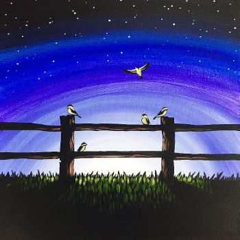 Canvas Painting Class on 02/13 at Muse Paintbar Gaithersburg