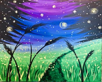 Canvas Painting Class on 11/15 at Muse Paintbar Owings Mills