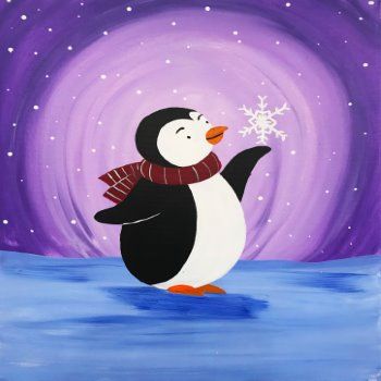 Kids Painting Class on 01/12 at Muse Paintbar Patriot Place