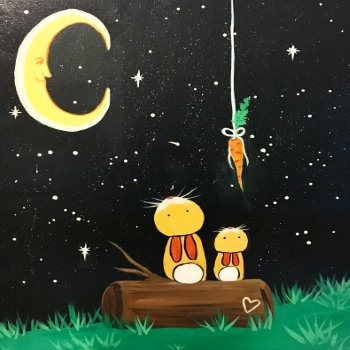 Kids Painting Class on 04/19 at Muse Paintbar Gaithersburg