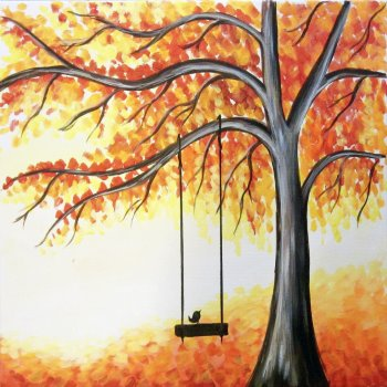 Canvas Painting Class on 09/18 at Muse Paintbar Manchester