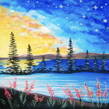 Canvas Painting Class on 03/27 at Muse Paintbar Richmond