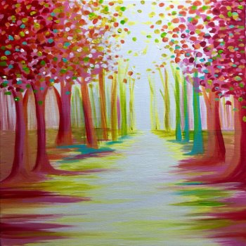Canvas Painting Class on 04/15 at Muse Paintbar Richmond