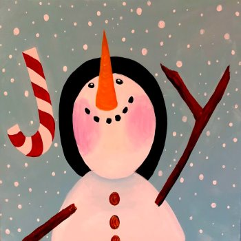 Canvas Painting Class on 12/23 at Muse Paintbar Patriot Place