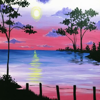 Canvas Painting Class on 03/21 at Muse Paintbar Annapolis