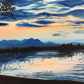 Couple's Paint Night on 09/27 at Muse Paintbar Fairfax (Mosaic)