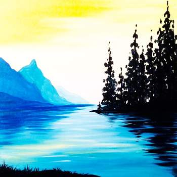Canvas Painting Class on 08/25 at Muse Paintbar Gaithersburg