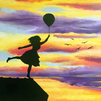 Canvas Painting Class on 03/13 at Muse Paintbar Gainesville