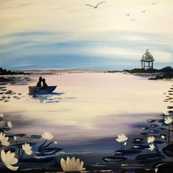 Canvas Painting Class on 06/17 at Muse Paintbar Richmond