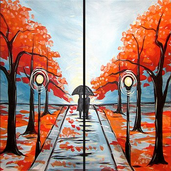 Couple's Paint Night on 11/17 at Muse Paintbar Richmond